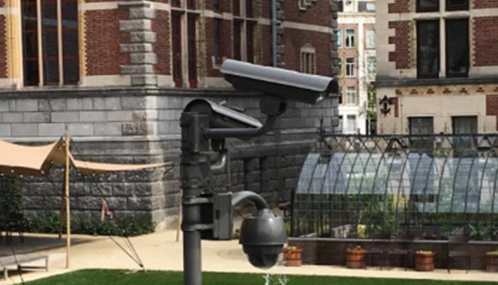 beveiligingscamera buiten