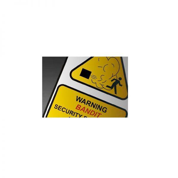 Bandit mistbeveiliging sticker
